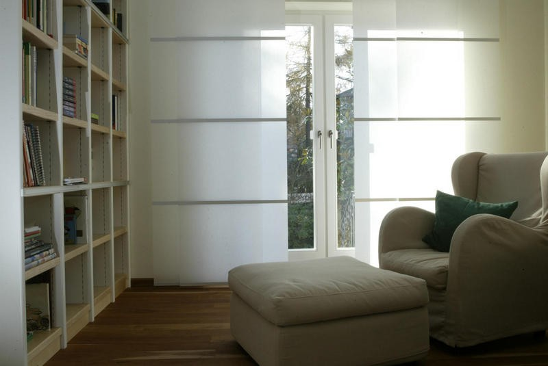 Japanse raamdecoratie for Ausgefallene gardinen